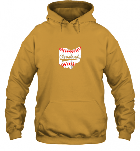 qiqu cleveland ohio 216 baseball hoodie 23 front gold