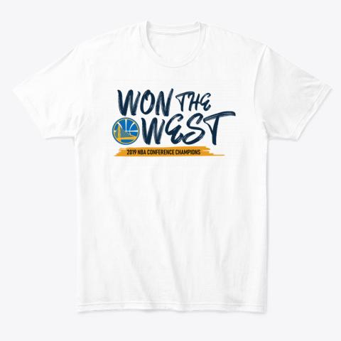 WON THE WEST WARRIORS T-Shirt