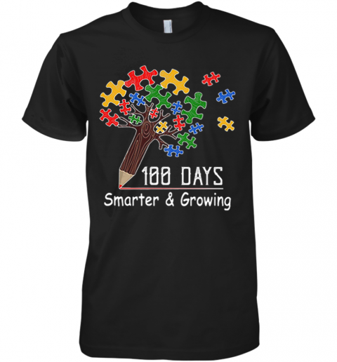 100 Days Smarter Premium Men's T-Shirt