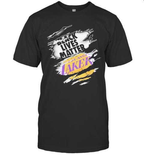 Black Lives Matter Los Angeles Lakers T-Shirt