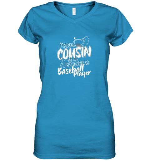 4ly4 cousin baseball shirt sports for men accessories women v neck t shirt 39 front sapphire