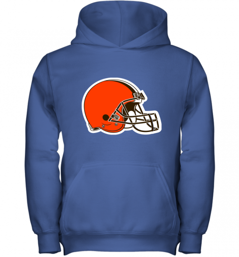 3qw3 cleveland browns nfl pro line by fanatics branded brown victory youth hoodie 43 front royal