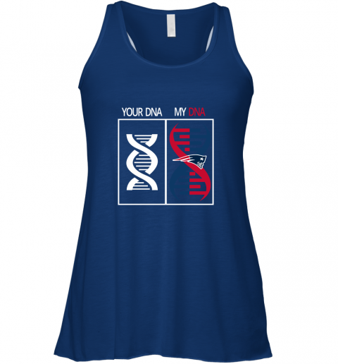 z0s1 my dna is the new england patriots football nfl flowy tank 32 front true royal