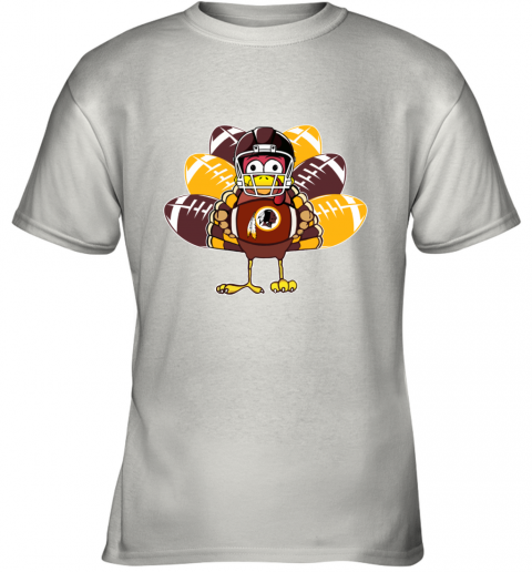 Washington Redskins  Thanksgiving Turkey Football NFL Youth T-Shirt