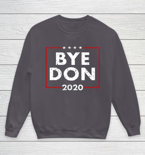 ByeDon 2020 Joe Biden 2020 American Election Youth Sweatshirt 5