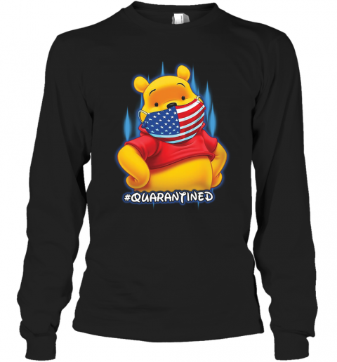 Pooh Face Mask Quarantined Long Sleeve T-Shirt
