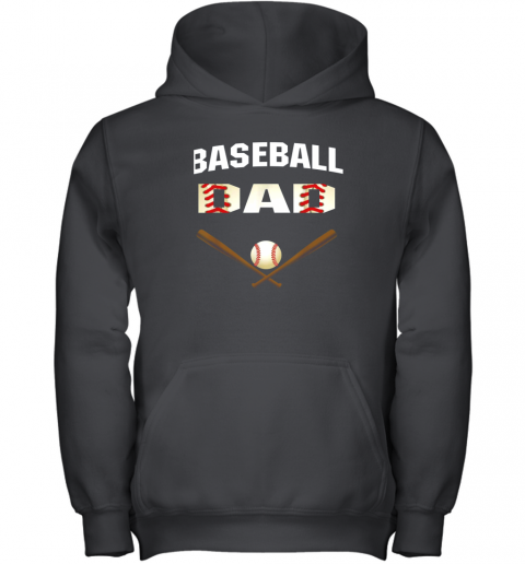 Mens Baseball Dad Shirt  Best Gift Idea For Fathers Youth Hoodie