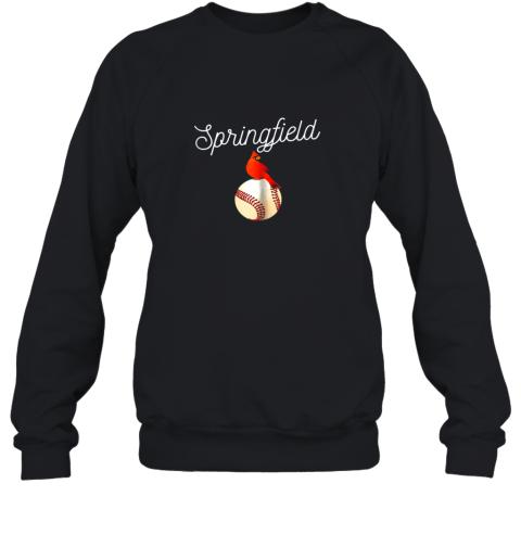 Springfield Red Cardinal Shirt For Baseball Lovers Sweatshirt