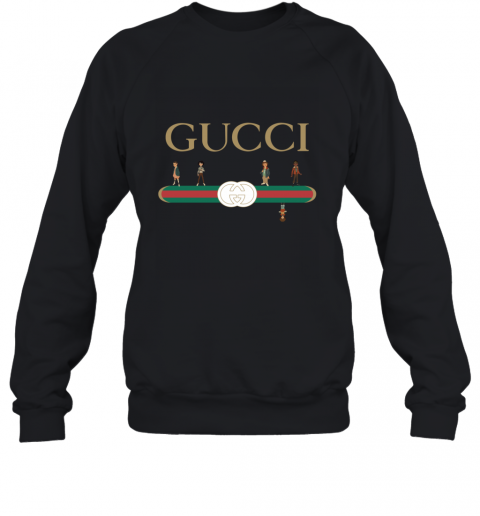 Stranger Things Upside Down Gucci Logo Sweatshirt