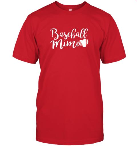 srwv funny baseball mimi shirt gift jersey t shirt 60 front red