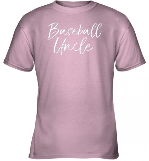 5rmk baseball uncle shirt for men cool baseball uncle youth t shirt 26 front light pink