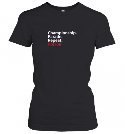 Boston Championship 2018 Game Day Shirt Baseball Women's T-Shirt