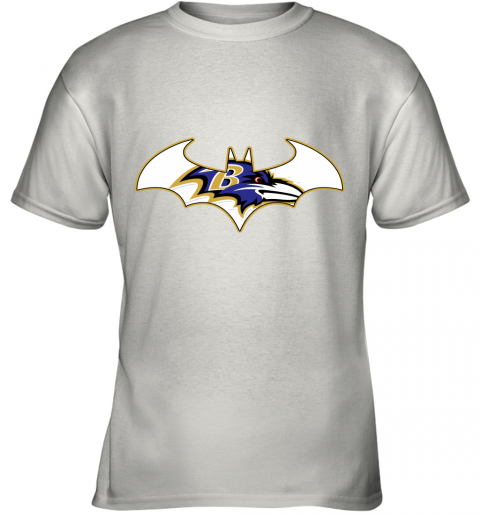 We Are The Baltimore Ravens Batman NFL Mashup Youth T-Shirt