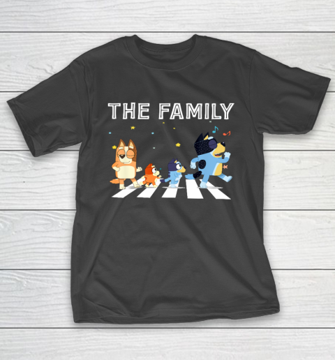 The Heeler Family Bluey Dad Mom For Lover T-Shirt