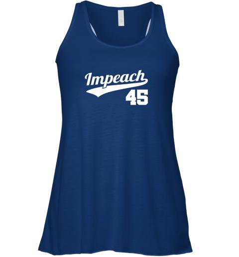 ciqw impeach donald trump 45 baseball logo flowy tank 32 front true royal