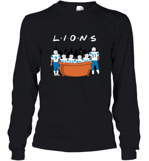 The Detroit Lions Together F.R.I.E.N.D.S NFL Youth Long Sleeve
