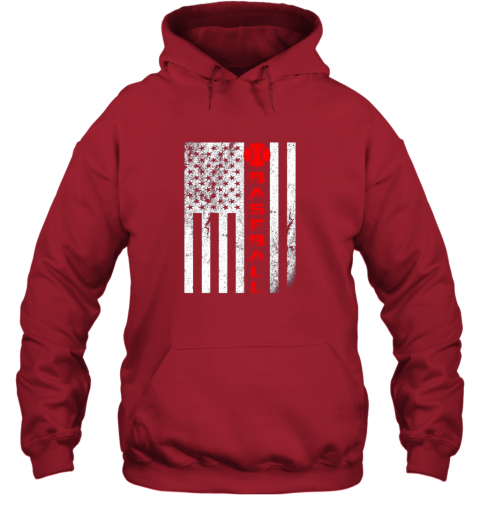 qac8 usa red whitevintage american flag baseball gift hoodie 23 front red