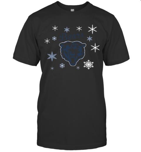 Chicago Bears Hallmark Christmas T-Shirt