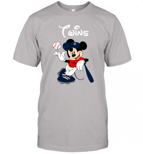 Baseball Mickey Team Minnesota Twins Unisex Jersey Tee