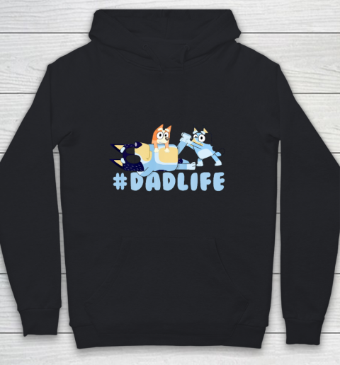 Family B luey birthday mother s father s day Youth Hoodie