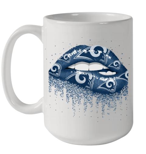 Sexy Lips Los Angeles Rams NFL Ceramic Mug 15oz