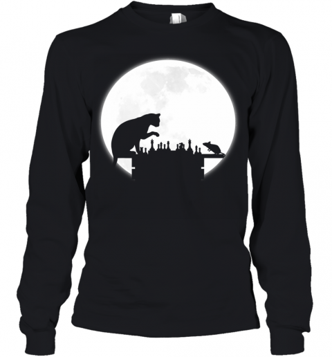 The Chess Board - The Cat, The Mouse And The Full Moon Youth Long Sleeve