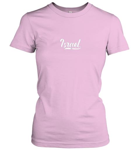 c1jq israel baseball national team fan cool jewish sport ladies t shirt 20 front light pink