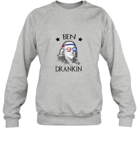 Day 4th Of July Ben Drankin Benjamin Franklin Sweatshirt