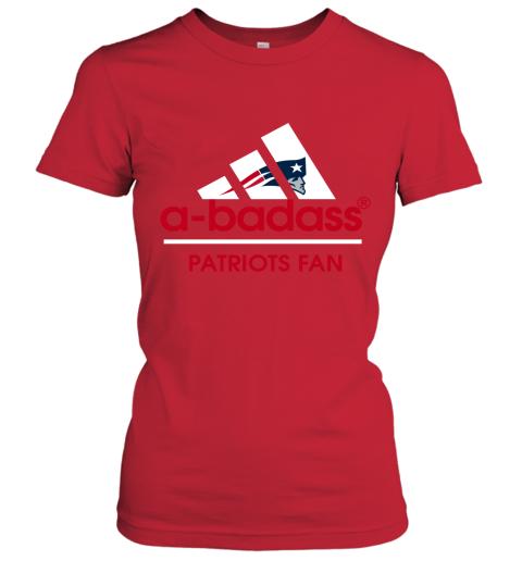 0jrk a badass new england patriots mashup adidas nfl shirts ladies t shirt 20 front red