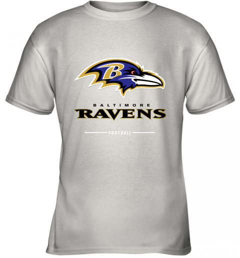 Men_s baltimore ravens NFL Pro Line Black Team Lockup T Shirt Youth T-Shirt