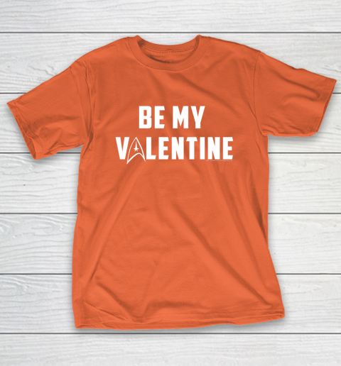 Star Trek Be My Valentine Delta Badge Graphic T-Shirt 4