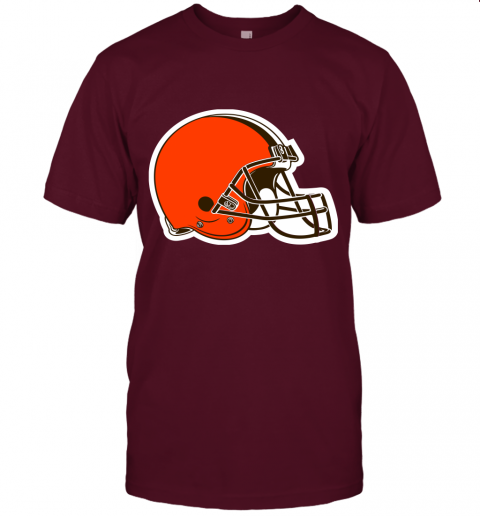 cpuw cleveland browns nfl pro line by fanatics branded brown victory jersey t shirt 60 front maroon