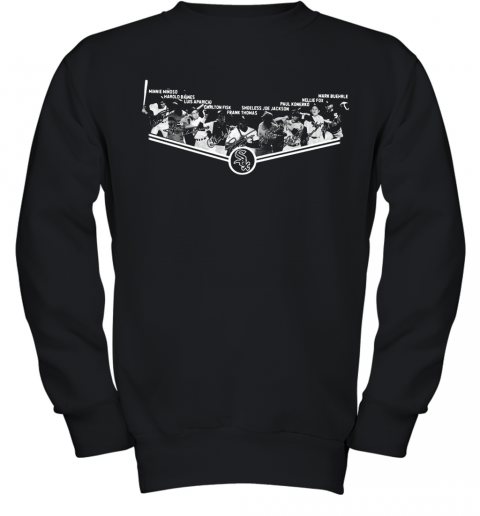 Chicago White Sox Players Team Signatures Youth Sweatshirt