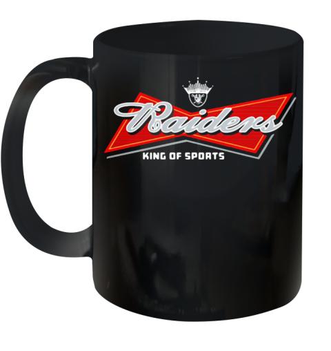 Oakland Raiders King Of Sports Ceramic Mug 11oz