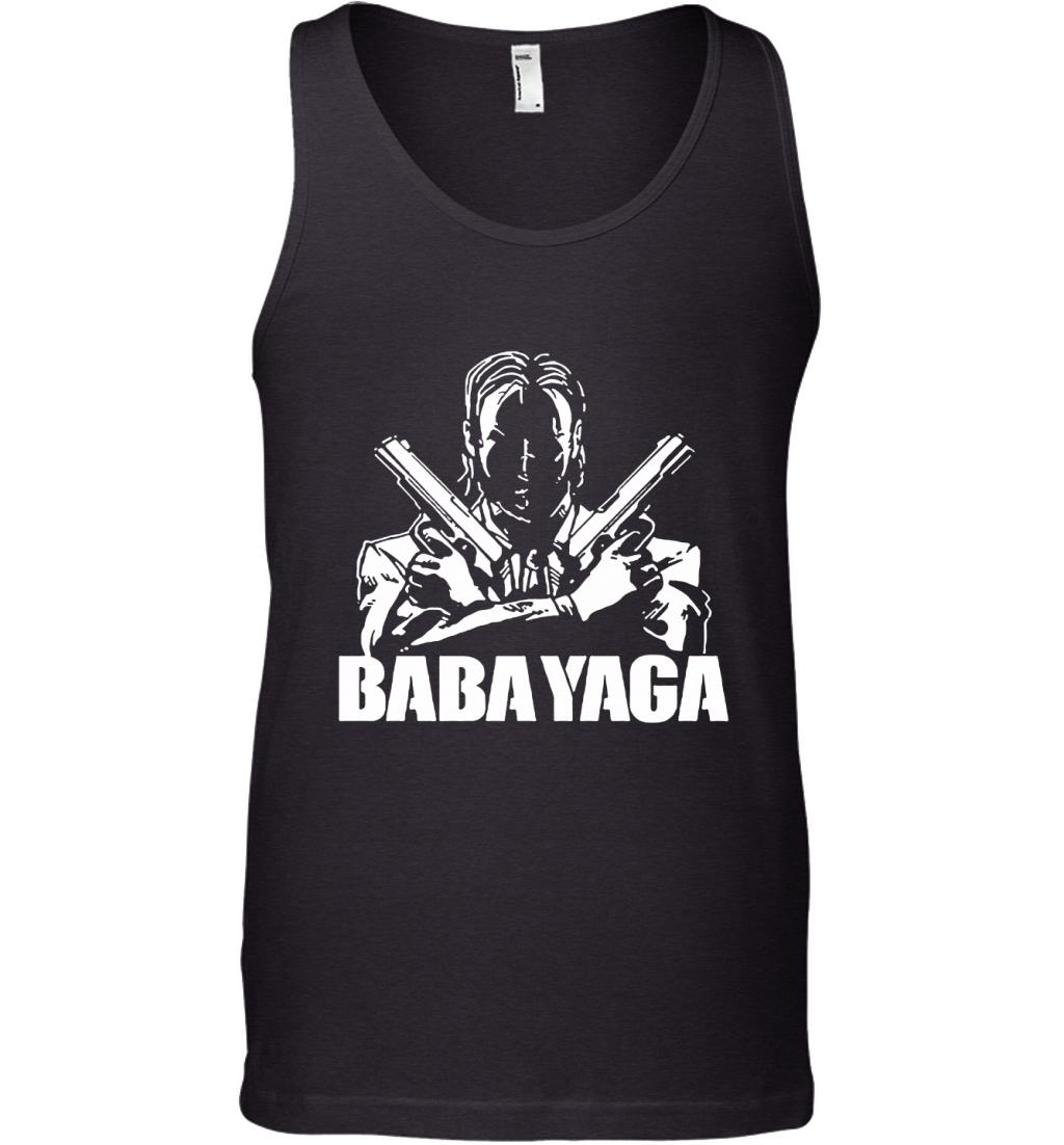 Shadow John Wick Dual Handguns The Babayaga Tank Top