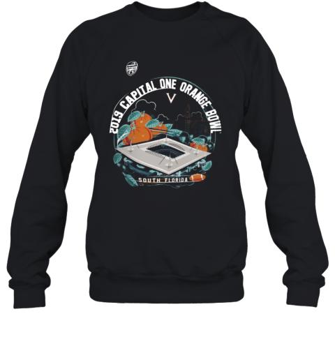 2019 Football The Captain One Orange Bowl South Florida Sweatshirt
