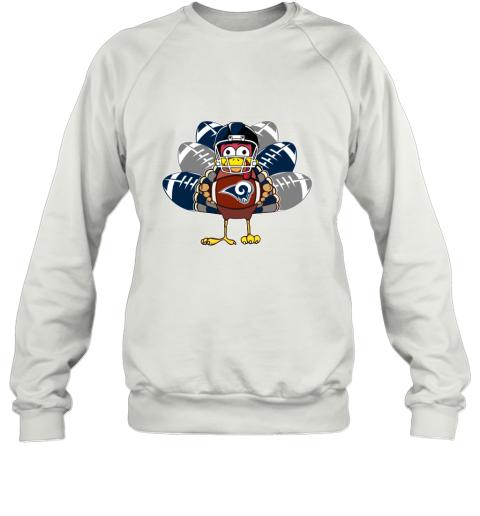 Los Angeles Rams  Thanksgiving Turkey Football NFL Sweatshirt