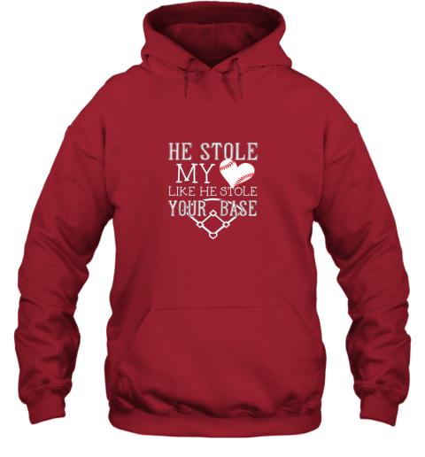 uwmu he stole my heart like he stole your basegirlfriend shirt hoodie 23 front red