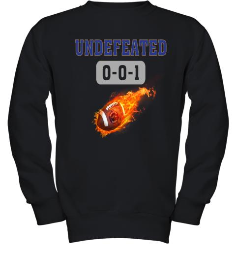 NFL BALTIMORE RAVENS Logo Undefeated Youth Sweatshirt