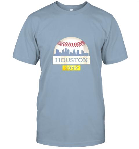 j2px houston baseball shirt 2019 astro skyline on giant ball jersey t shirt 60 front light blue