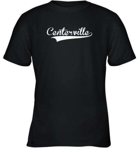 CENTERVILLE Baseball Softball Styled Youth T-Shirt