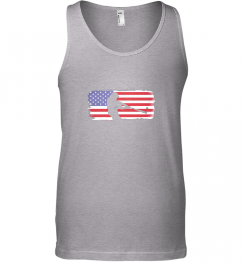 ndma usa american flag baseball player perfect gift unisex tank 17 front sport grey