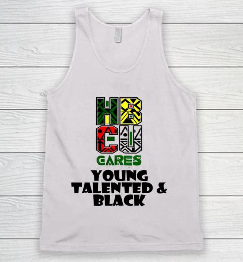 HBCU Cares College University Graduation Gift Black Schools Shirt Tank Top