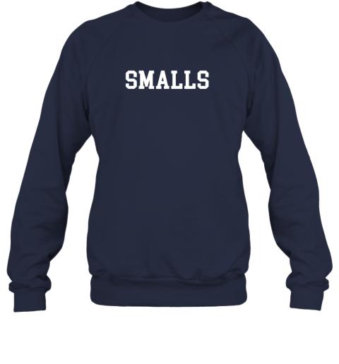 o9qs smalls shirt funny baseball gift sweatshirt 35 front navy