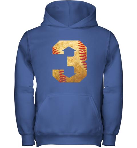 i1ey three up three down baseball 3 up 3 down youth hoodie 43 front royal
