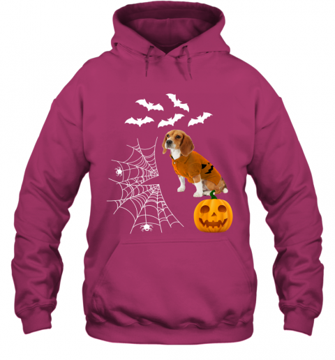 Funny Pumpkin Beagle Matching Beagle Dog Halloween Hoodie