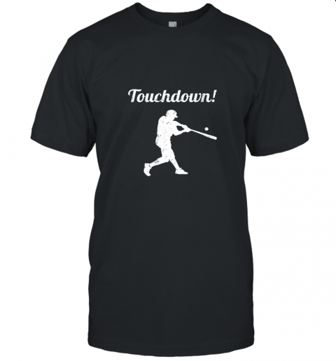 Touchdown Funny Baseball Unisex Jersey Tee