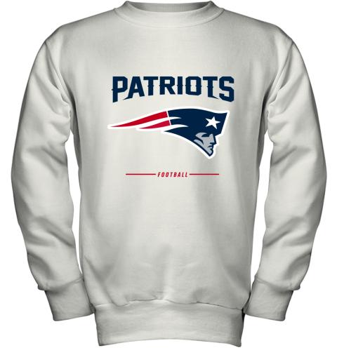 New England Patriots NFL Pro Line Black Team Youth Sweatshirt