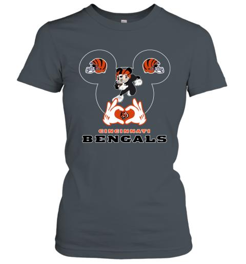 g3yq i love the bengals mickey mouse cincinnati bengals ladies t shirt 20 front dark heather