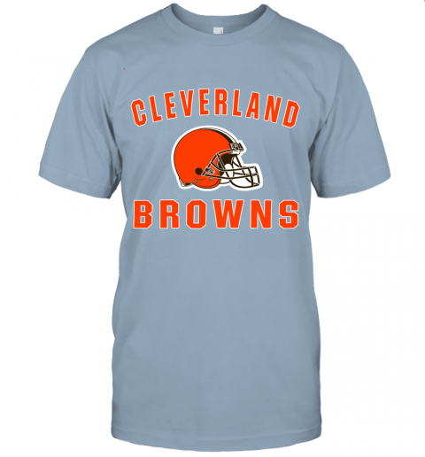 6lfm cleveland browns nfl line by fanatics branded brown victory jersey t shirt 60 front light blue